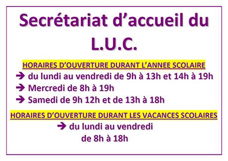 Calendrier Universitaire Lille 1 2019 2020.Accueil Luc
